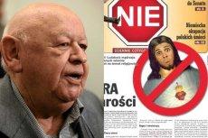Jerzy Urban sądzony za obrazę uczuć religijnych
