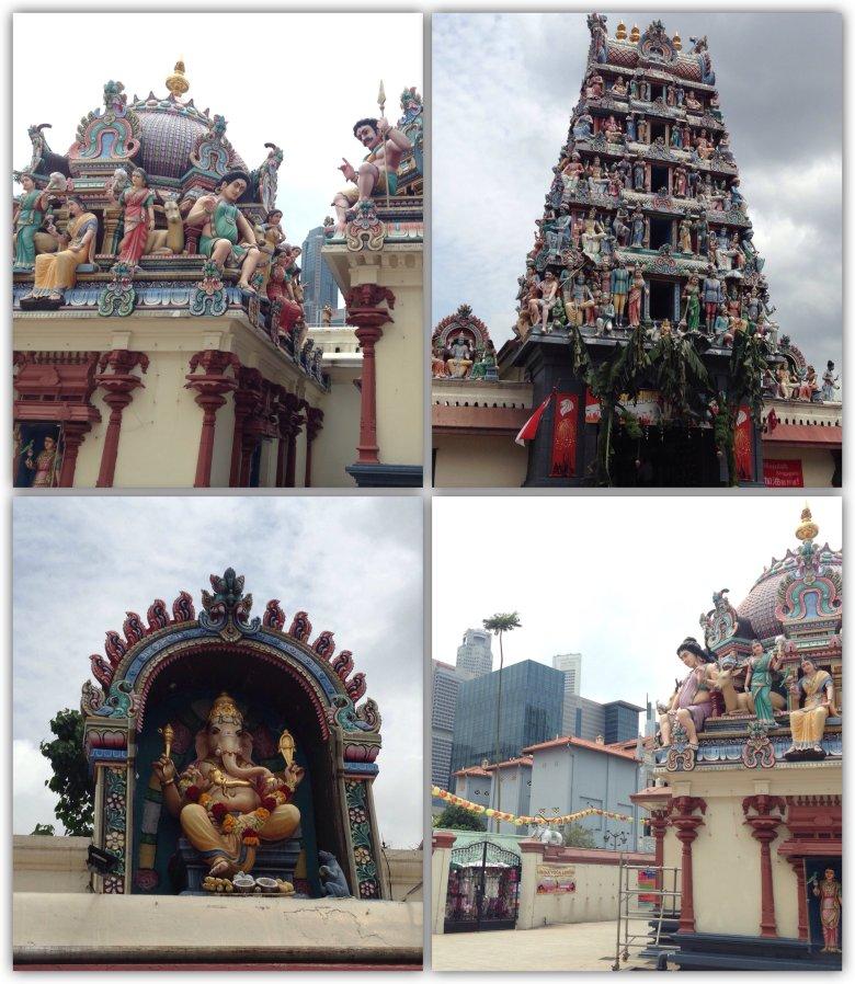 Najstarsza w Singapurze światynia hinduistyczna Šri Mariamman.