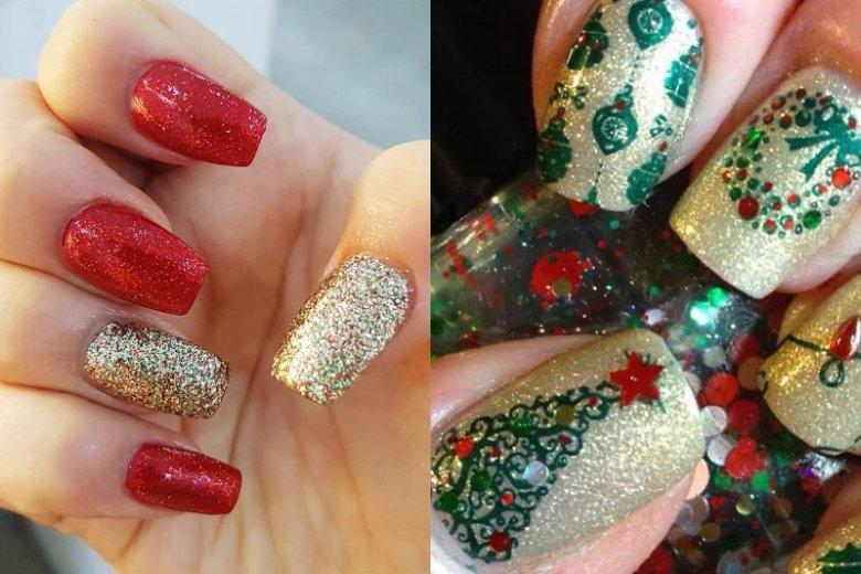 Błyszczący manicure to idealny pomysł na świąteczny i sylwestrowy okres. Lakiery, żele i pyłki dają mnóstwo możliwości