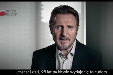 Liam Neeson wystąpił w spocie PFN.