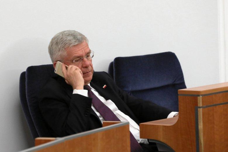 Stanisław Karczewski, zdaniem byłego polityka PiS, ma dostatnie życie.