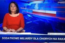 """""""Wiadomości"""" wytłumaczyły zachowanie Lichockiej i zaatakowały opozycję."""