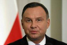 Andrzej Duda zaskoczył podczas konferencji prasowej.