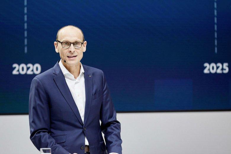 Ralf Brandstätter podczas konferencji prasowej 6 grudnia