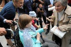 Wanda Traczyk-Stawska przekazała niepełnosprawnym dziewczynkom niezwykły prezent.