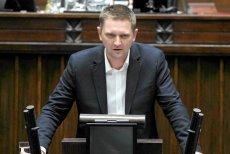 Poseł Ruchu Palikota Andrzej Rozenek