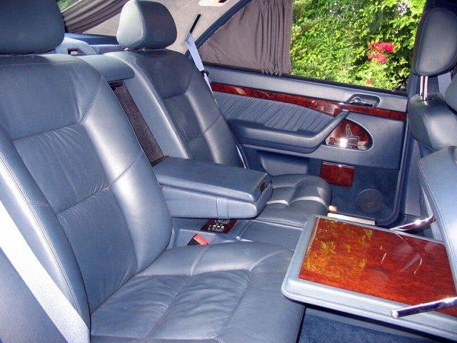 Wnętrze Mercedesa W140