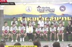 W środę miała miejsce konferencja chłopców uratowanych z tajlandzkiej jaskini.