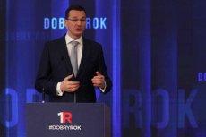 Wicepremier Morawiecki chce przeliczenia danych PKB, bo były za wysokie za czasów poprzedników.