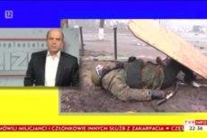 """W programie """"Bliżej"""" Jana Pospieszalskiego wyemitowano materiały pokazujące śmierć protestujacych na Majdanie."""