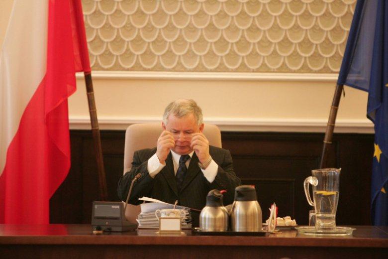 Kaczyński, kiedy był premierem, firmował zupełnie inne rozwiązania, niż obecnie