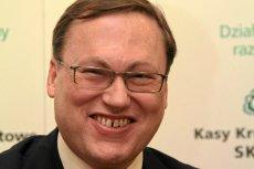 Grzegorz Bierecki, senator PiS i twórca SKOK-ów, skomentował sprawę pobicia byłego wiceszefa KNF Wojciecha Kwaśniaka.
