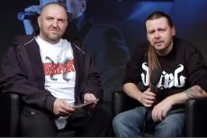 Krzysztof Kozak (z lewej) w programie Artura Rawicza.