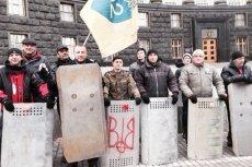 Jacek Kurski na barykadach Majdanu...