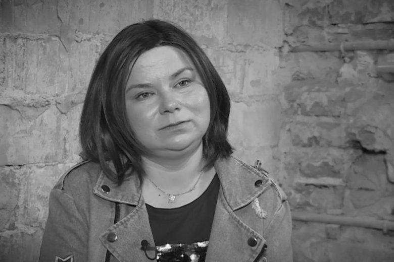 Przez chorobę pani Justyna rozstała się z mężem.