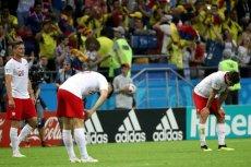 kolumbijscy kibice pocieszali polskich po wysokim zwycięstwie ich drużyny w Kazaniu.