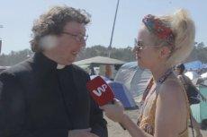 Ksiądz, który był na Pol'and'Rock Festival, zachwalał imprezę.