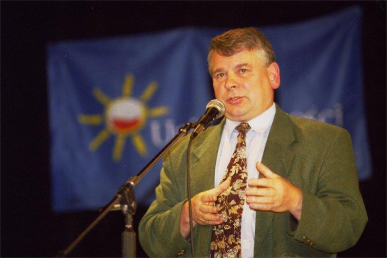 Bogdan Borusewicz fot. z 2000 roku.