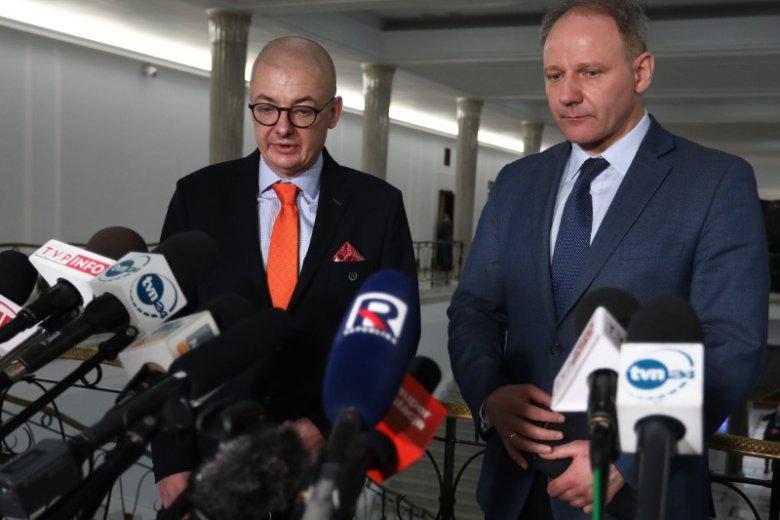To dwaj z sześciu posłów, któzy według nieoficjalnych informacji mają zasilić sejmowe szeregi PSL i uchronić je od degradacji.