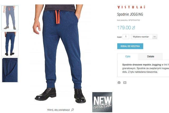 f2195393522143 Vistula wypuszcza spodnie dresowe. Czy to koniec klasyki i elegancji ...