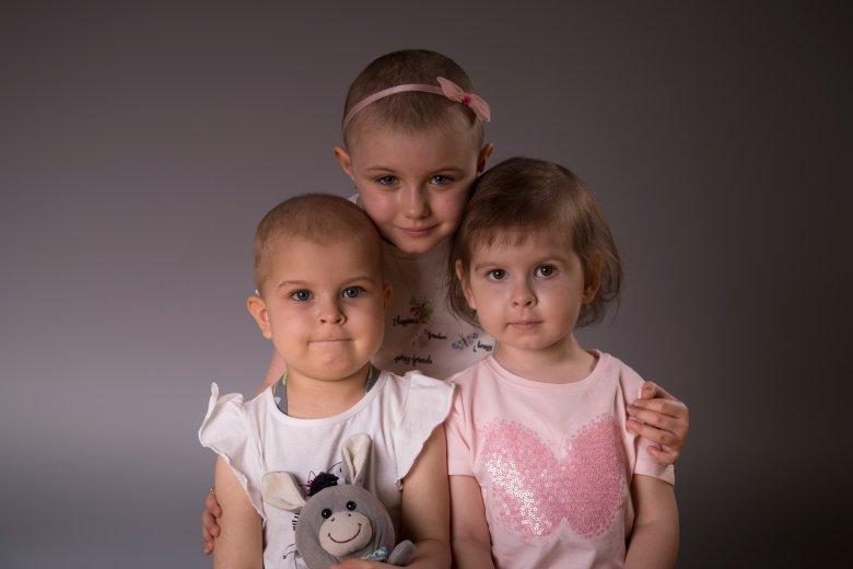 Podopieczni Fundacji Na Ratunek Dzieciom z Chorobą Nowotworową.