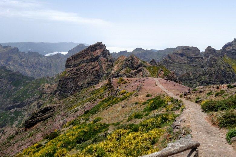Jeden ze szlaków na Maderze