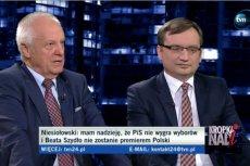 Zbigniew Ziobro i Stefan Niesiołowski przekonywali, czy lepszą liderką jest Beata Szydło czy Ewa Kopacz.