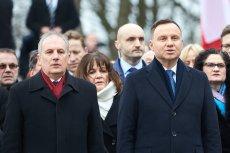 Wojewoda Drelich w urzędzie upamiętnił wizytę prezydenta Dudy.
