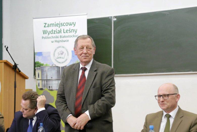 Jan Szyszko w Hajnówce dowiedział się, że jest odważny i mądry.