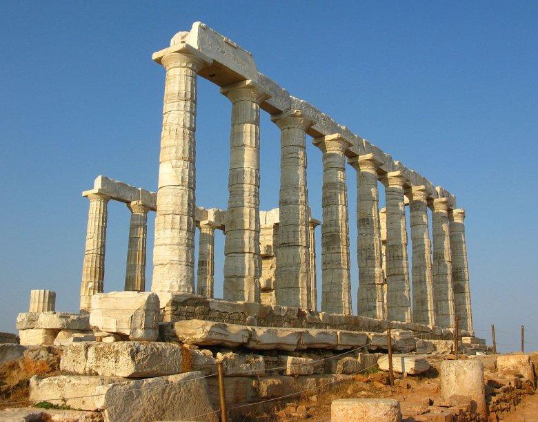 Świątynia Posejdona na Przylądku Sunion