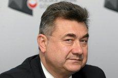 Grzegorz Tobiszowski z PiS kopał w drzwi europarlamentu. Wszystko nagrał pracownik PE.