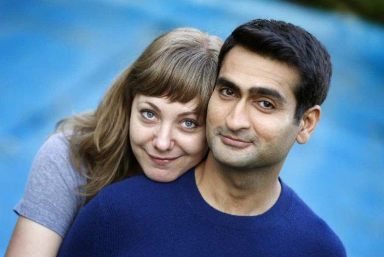 Emily Gordon i Kumail Nanjiani, autorzy scenariusza ''I  tak cię kocham'', którzy ''dali życie'' głównym bohaterom filmu