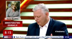 """Minister Marek Suski na antenie TVP snuł wizje, że w nowym rządzie Lewicy ministrem edukacji narodowej byłaby Anna Grodzka. Potem temat podchwyciły """"Wiadomości"""" TVP. Co na to sama zainteresowana?"""