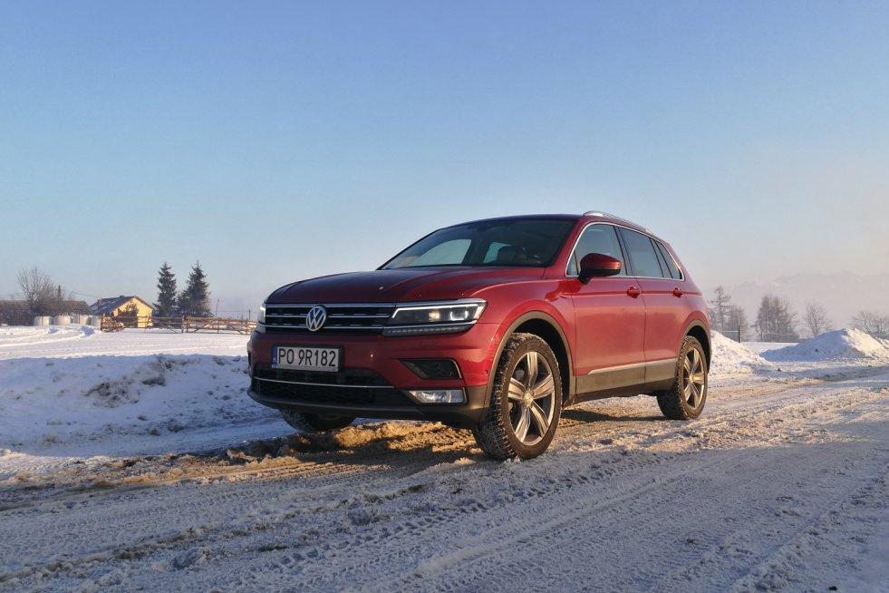 Tiguan – przedstawiciel Volkswagena wśród SUV-ów.