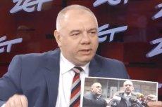 Jacek Sasin pokazał zdjęcia, na których widać Sławomira Broniarze w towarzystwie Grzegorza Schetyny.