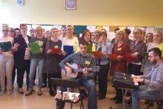 Nauczyciele z Gliwic nagrali piosenkę z okazji strajku.