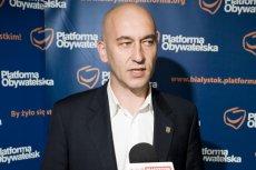Białystok, były senator PO Tadeusz Arłukowicz kandydatem na prezydenta z list ruchu Kukiz'15.