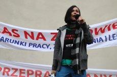 Katarzyna Pikulska była w gronie liderów protestu rezydentów. Dla TVP stała się celem do ataku.