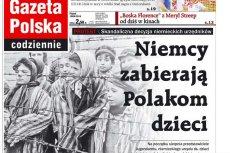 """""""Gazeta Polska Codziennie"""" wykorzystała do walki politycznej ofiary obozów śmierci."""