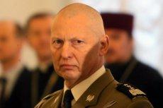 Generał Różański nie czuje sięwojskowym PO
