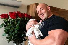 Robert Burneika po raz pierwszy został ojcem.