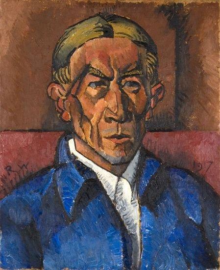 """Kamil Witkowski """"Autoportret"""" 1917"""