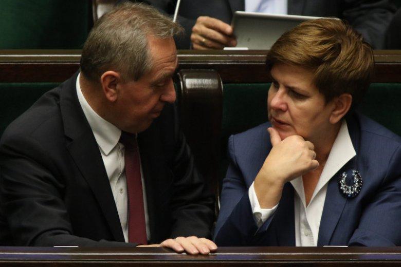 Minister Henryk Kowalczyk, główny analityk finansowy PiS.