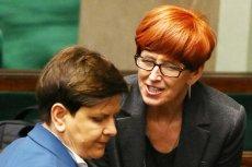 W Sejmie trwa debata o odwołaniu Beaty Szydło i Elżbiety Rafalskiej.
