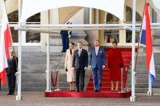 Para prezydencka podczas oficjalnej wizyty w Holandii.