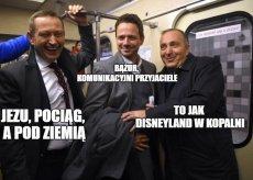 Politycy opozycji są przekonani, że przejażdżka metrem to świetny sposób na wygraną.