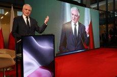 """""""Porozumienie"""" - tak nazywa się nowa partia Jarosława Gowina."""