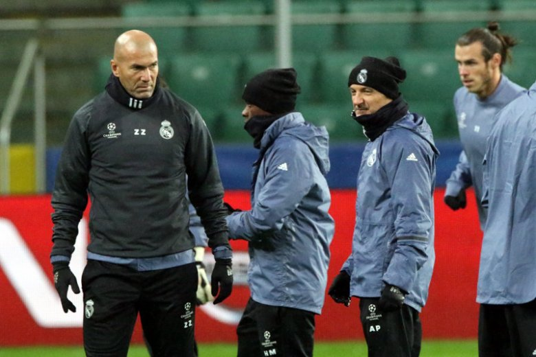 Zinedine Zidane jest dzisiaj trenerem Realu Madryt