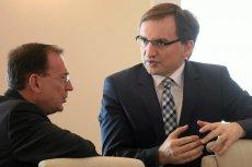 Ziobro postraszył Sąd Najwyższy. Uchwałą w sprawie ułaskawienia Kamińskiego miałby się zająć Trybunał sędzi Przyłębskiej