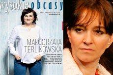 """Małgorzata Terlikowska na okładce """"Wysokich Obcasów"""". Obok Agnieszka Kublik z Gazety Wyborczej"""
